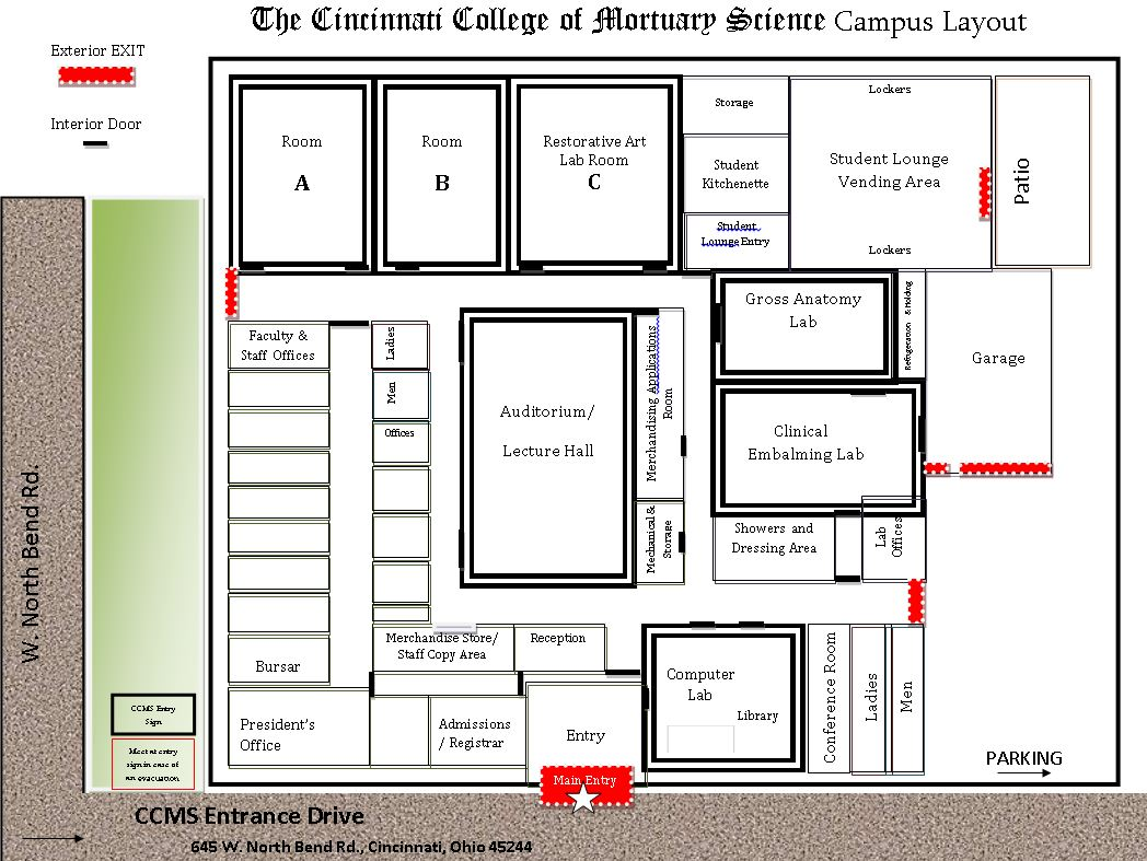 Image of Campus Layout Floorplan