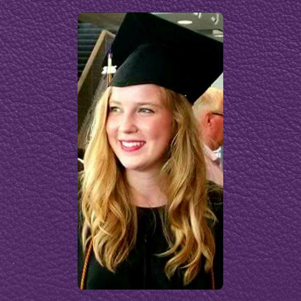 Rachael at graduation