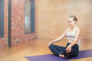 destress with yoga from exam
